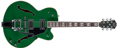 J & D SA 70 Bigsby Dark Green