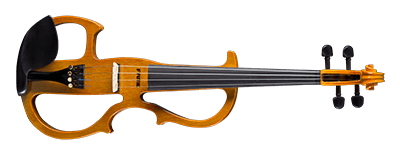 Fame Electric Violin #7 Natural High Gloss