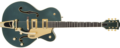 Gretsch G5420TG Electromatic Hollow Body Bigsby Cadillac Green