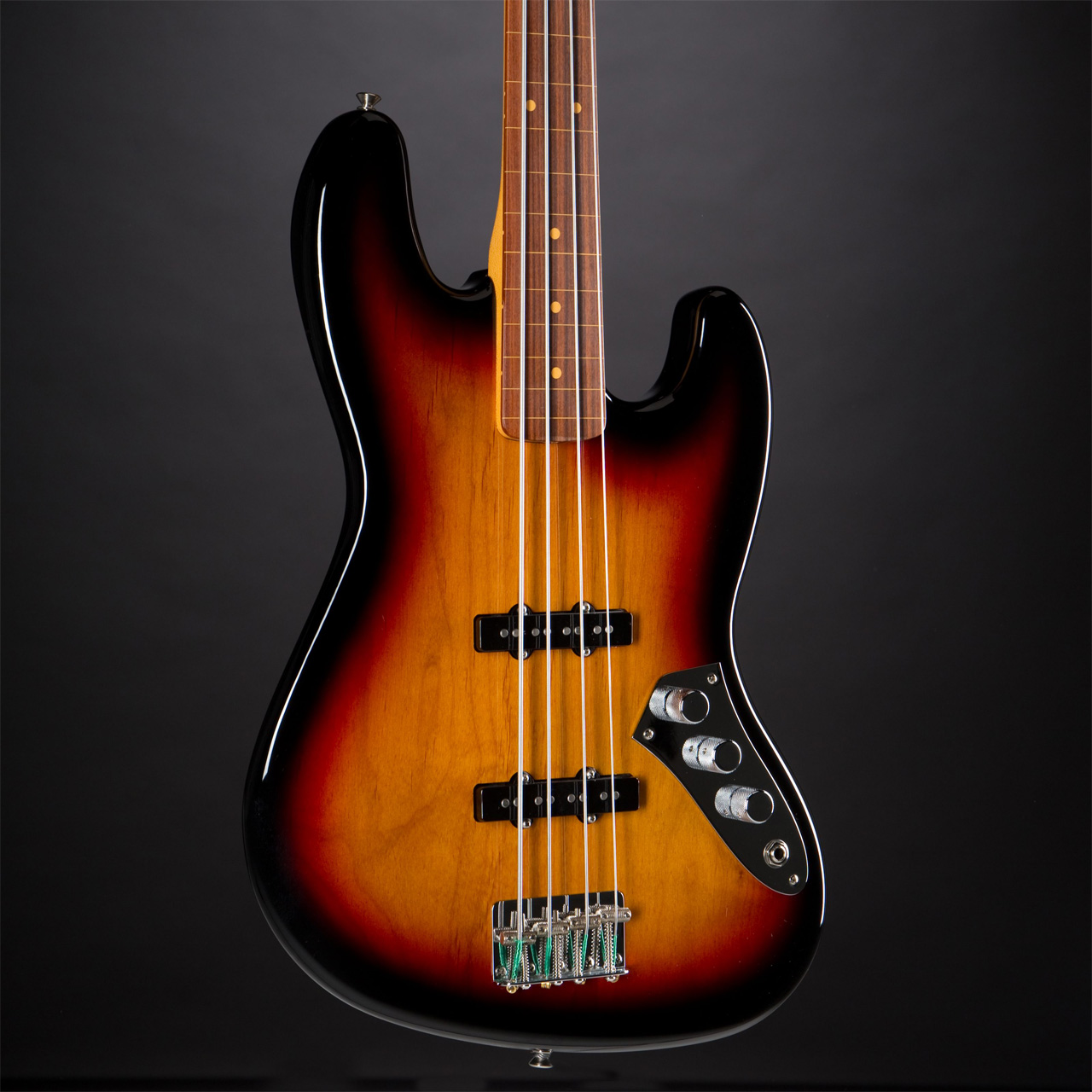 FENDER Jaco Pastorius Jazz Bass 3-Color Sunburst Korpus