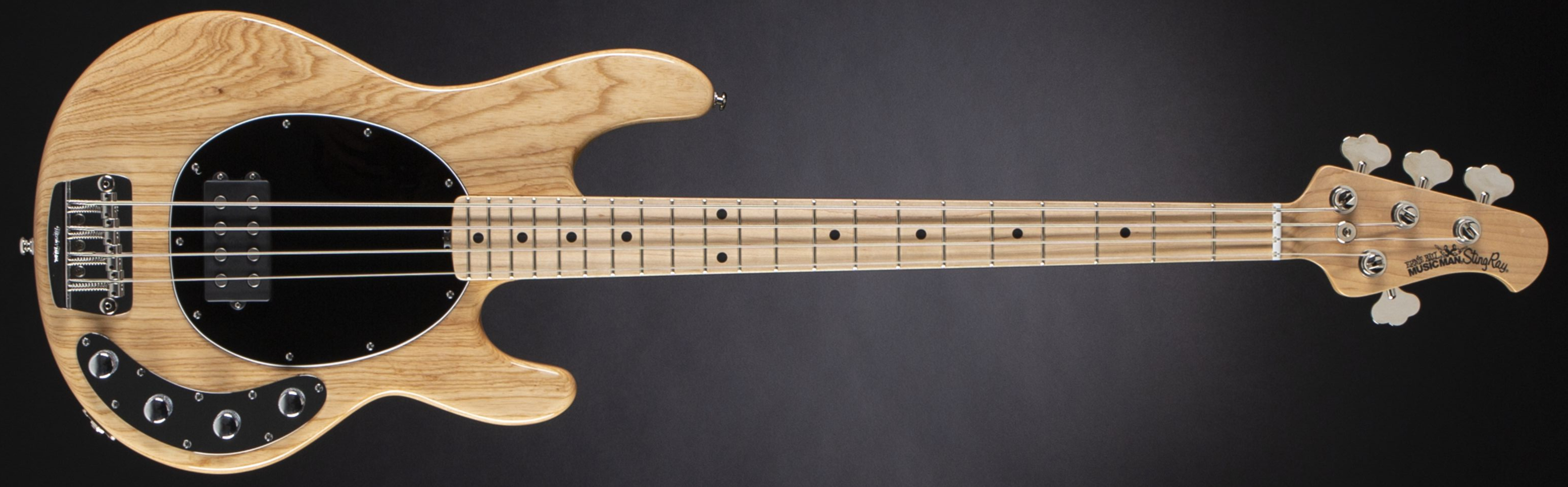 Music Man Stingray 4 3EQ Natural Front
