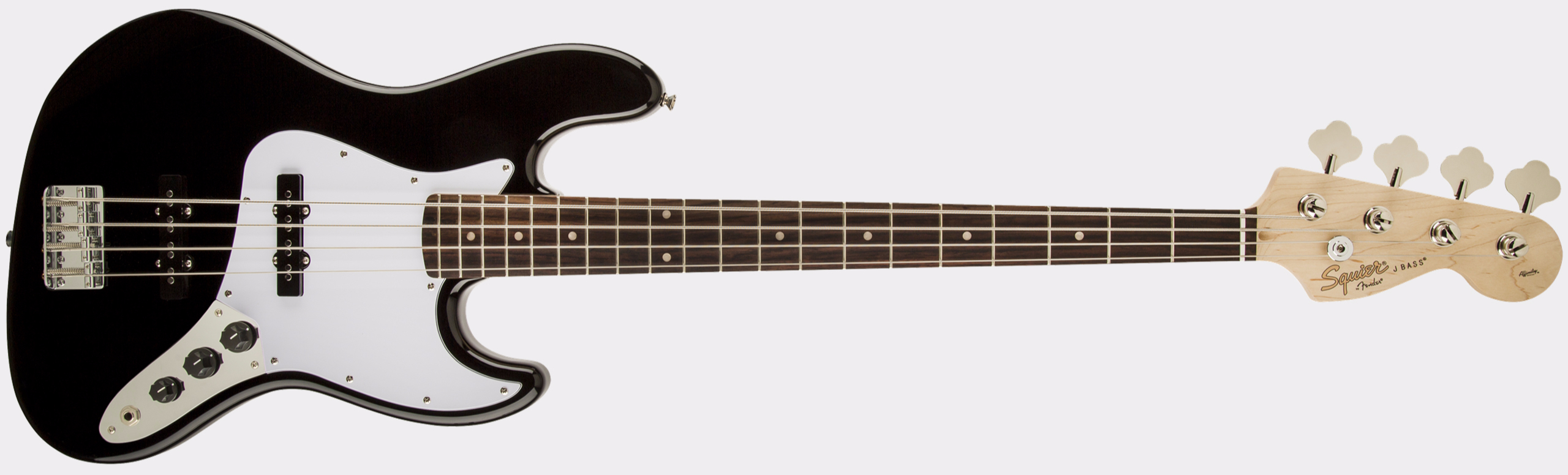 SQUIER Affinity Series Jazz Bass RW Black