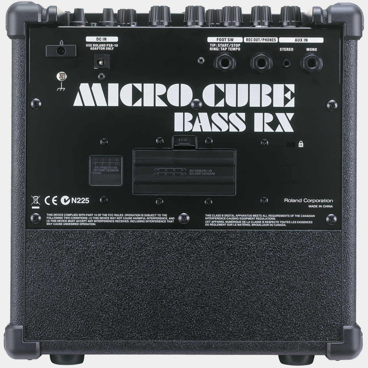 ROLAND Micro Cube Bass RX Rear