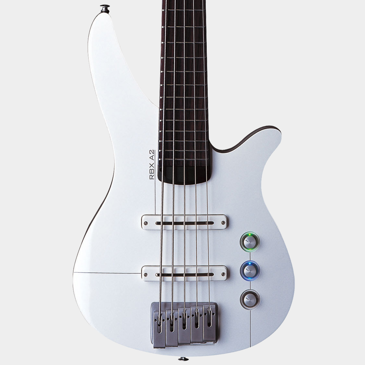 YAMAHA RBX5A2 White/Aircraft Grey Body Detail