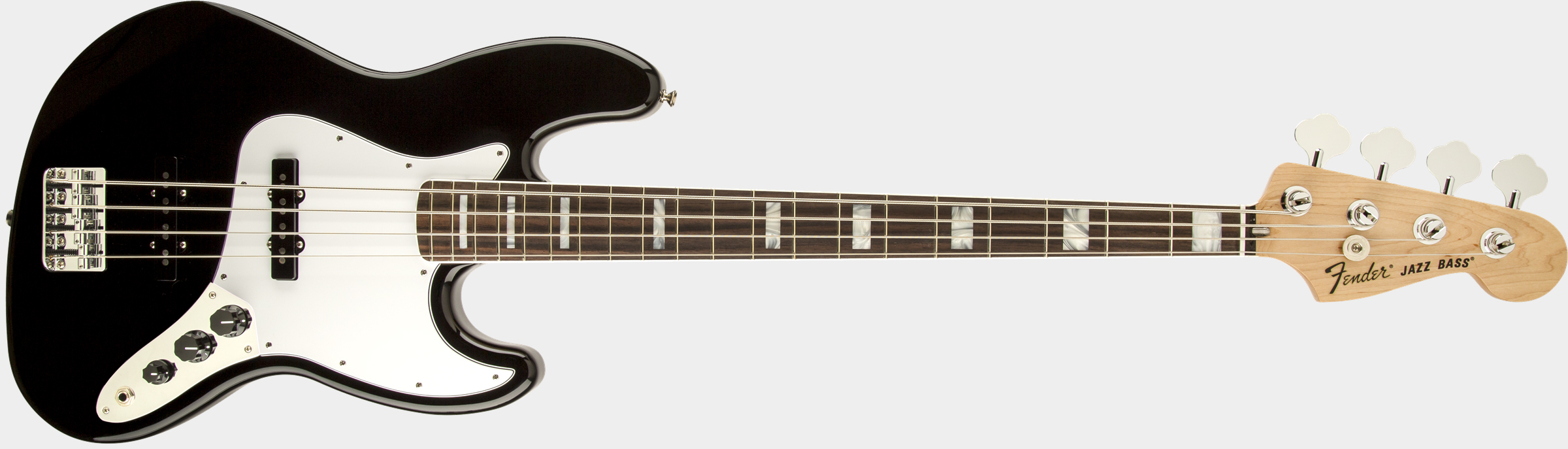 FENDER Classic '70s Jazz Bass Black