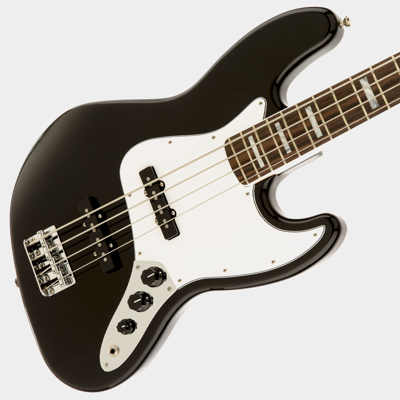 FENDER Classic '70s Jazz Bass Black Body Detail