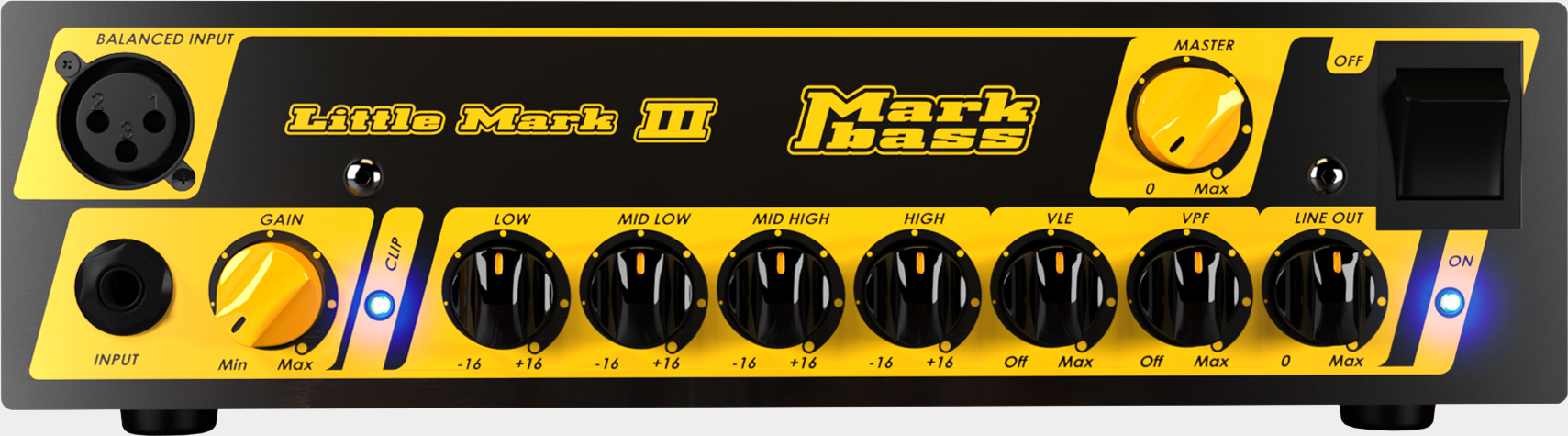 MARKBASS Little Mark III Front Panel