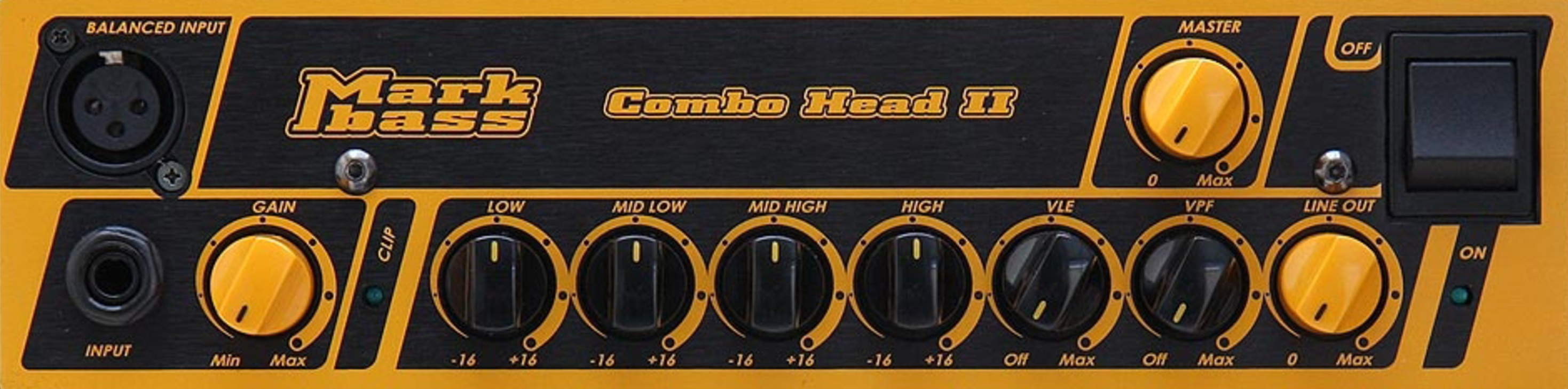 MARKBASS CMD 102 P LM3 Combo Front Panel