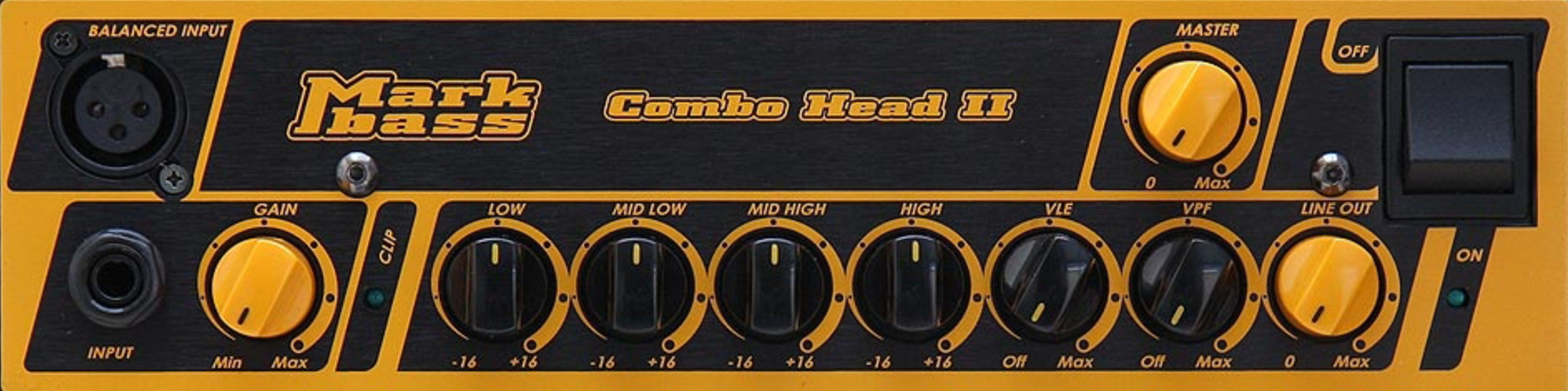 MARKBASS CMD 151 JB LM3 Combo Front Panel