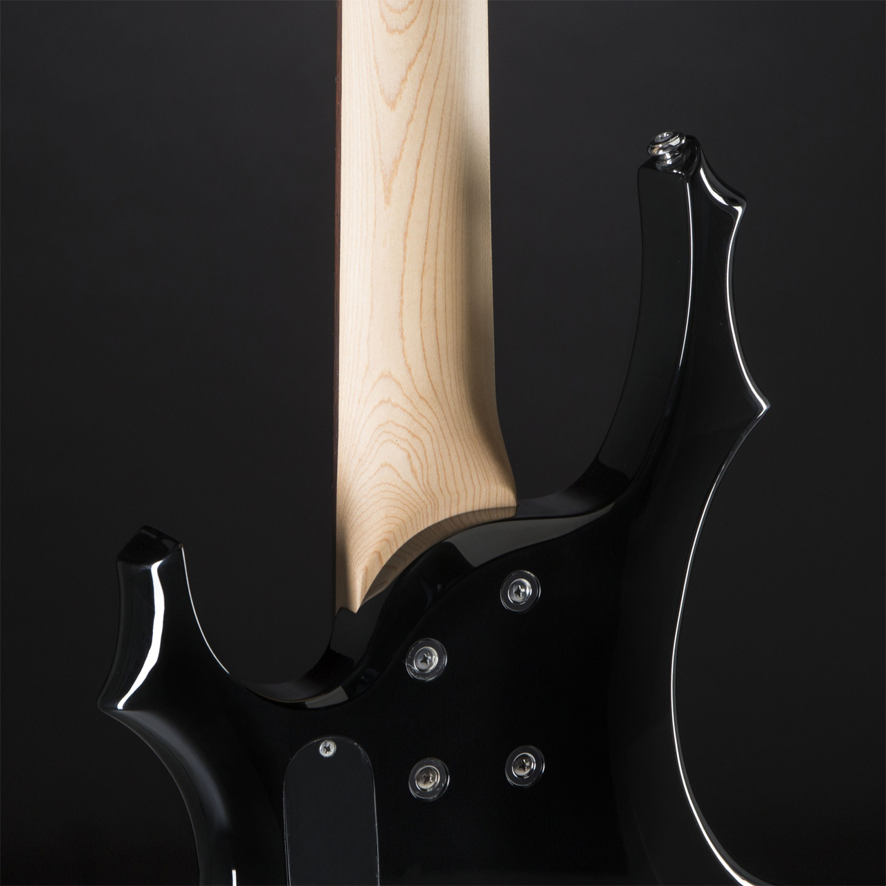 ESP LTD F-105 BK Black backside