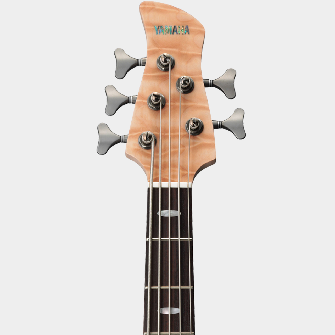 YAMAH TRB 1005 J Natural Headstock Detail