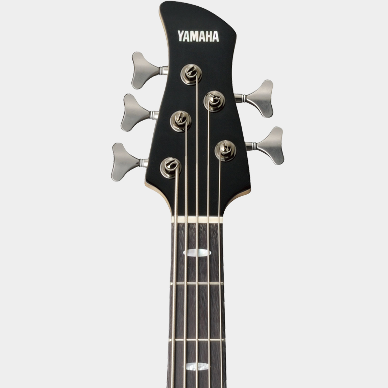 YAMAHA TRB 1005 J Black Headstock Detail