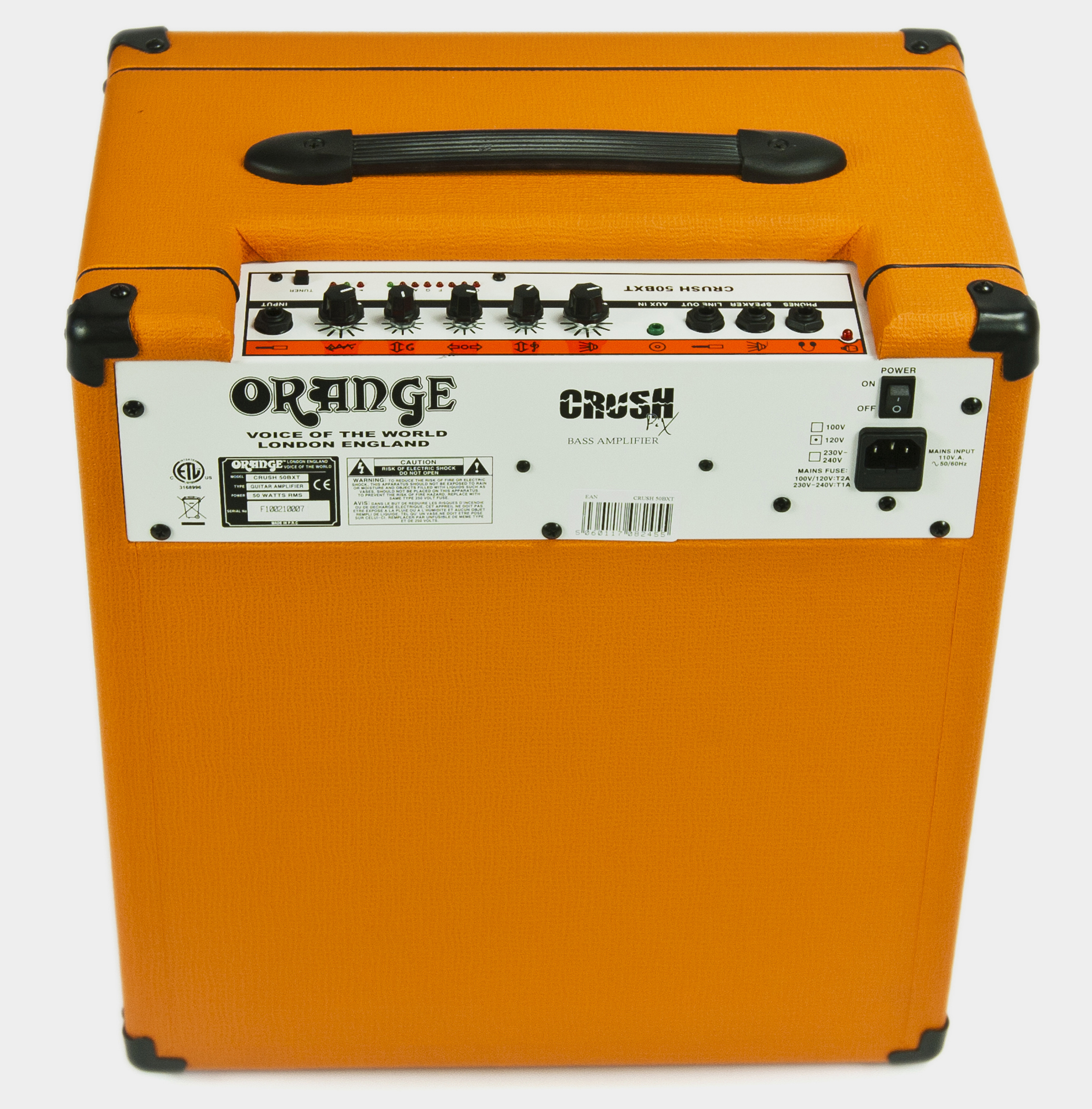 ORANGE CrushPiX CR50BX Rear