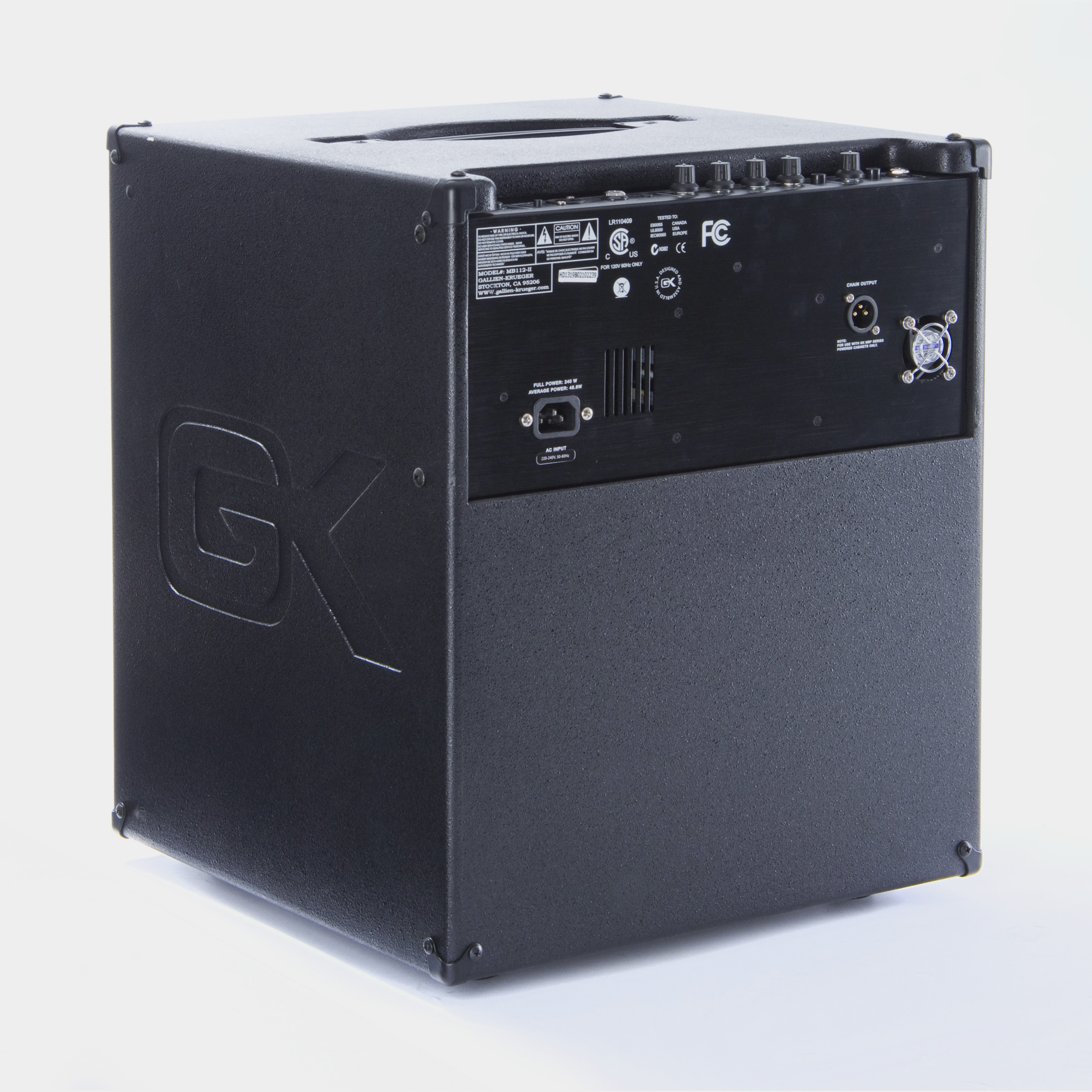 GALLIEN KRUEGER MB 112-II Combo Rear