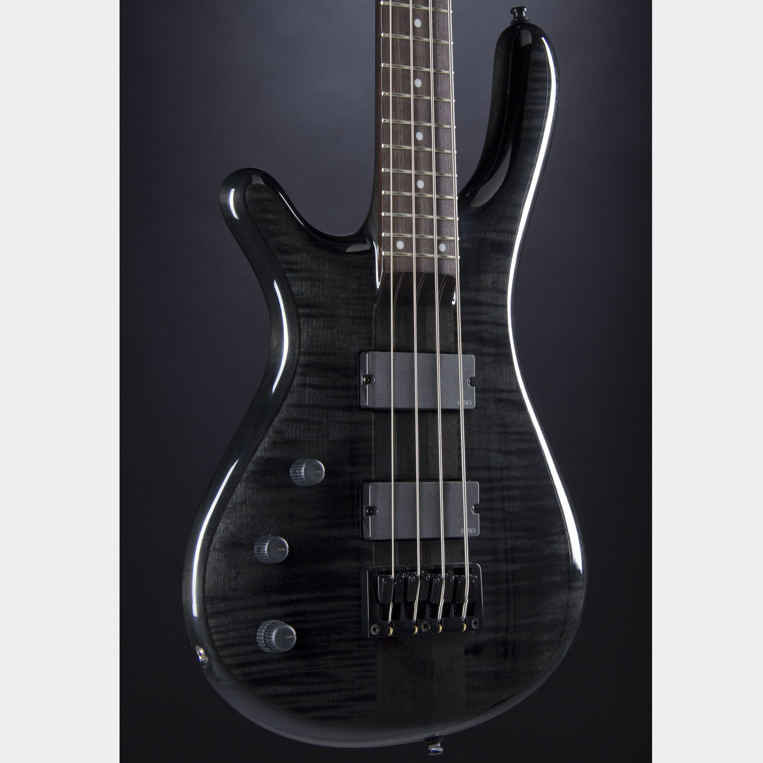 FAME Baphomet 4 NTB LE Lefthand Transparent Black High Gloss Korpus