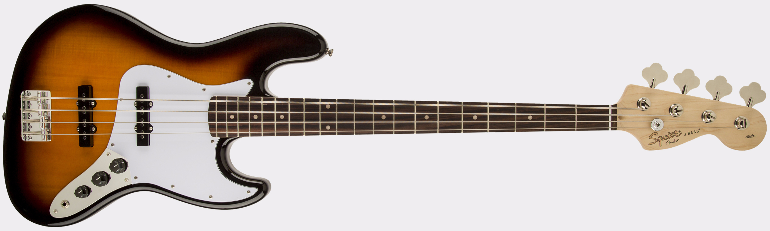 SQUIER Affinity Series Jazz Bass RW Brown Sunburst