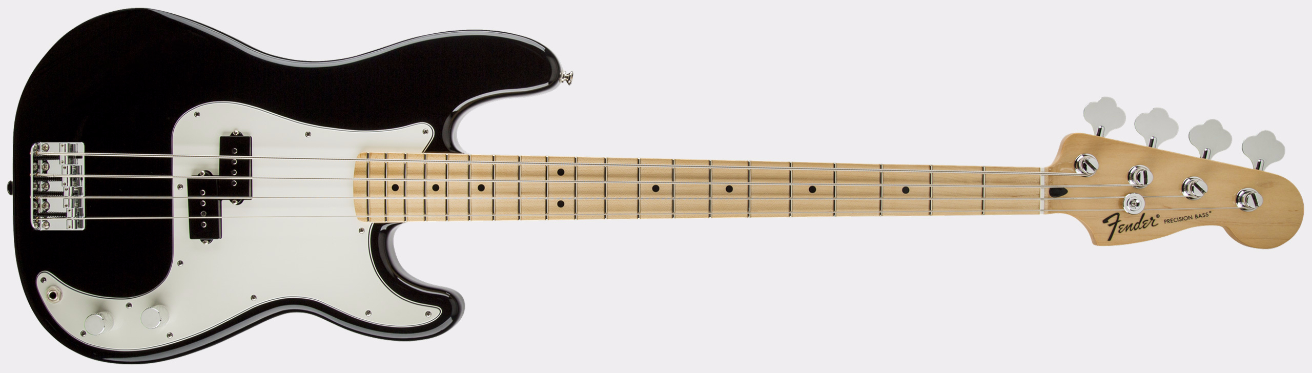 FENDER Standard Precision Bass MN Black