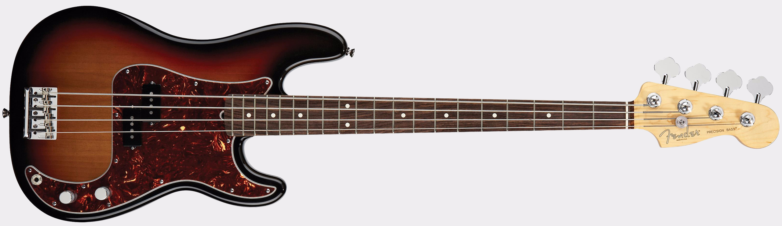 FENDER American Standard Precision Bass RW 3-Color Sunburst