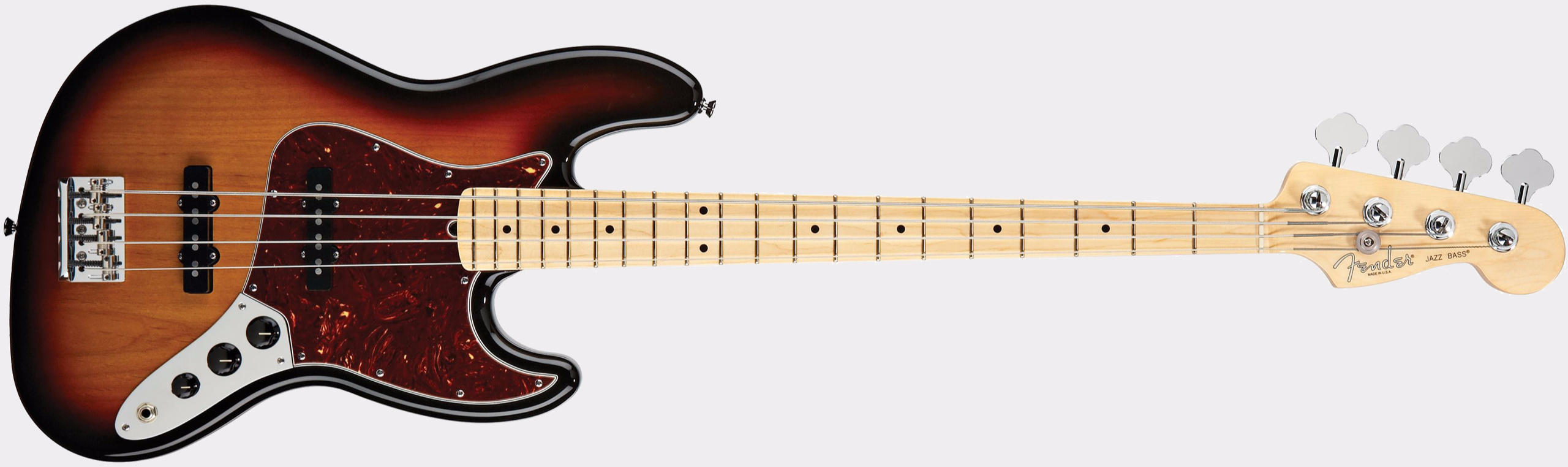 FENDER American Standard Jazz Bass MN 3-Color Sunburst