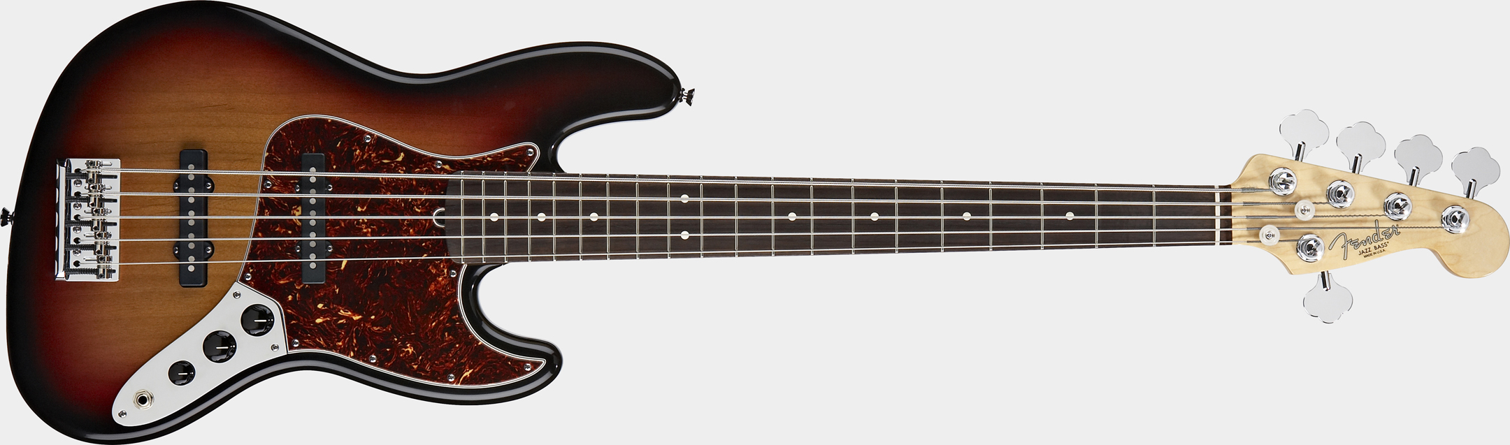 FENDER American Standard Jazz Bass V 3-Color Sunburst