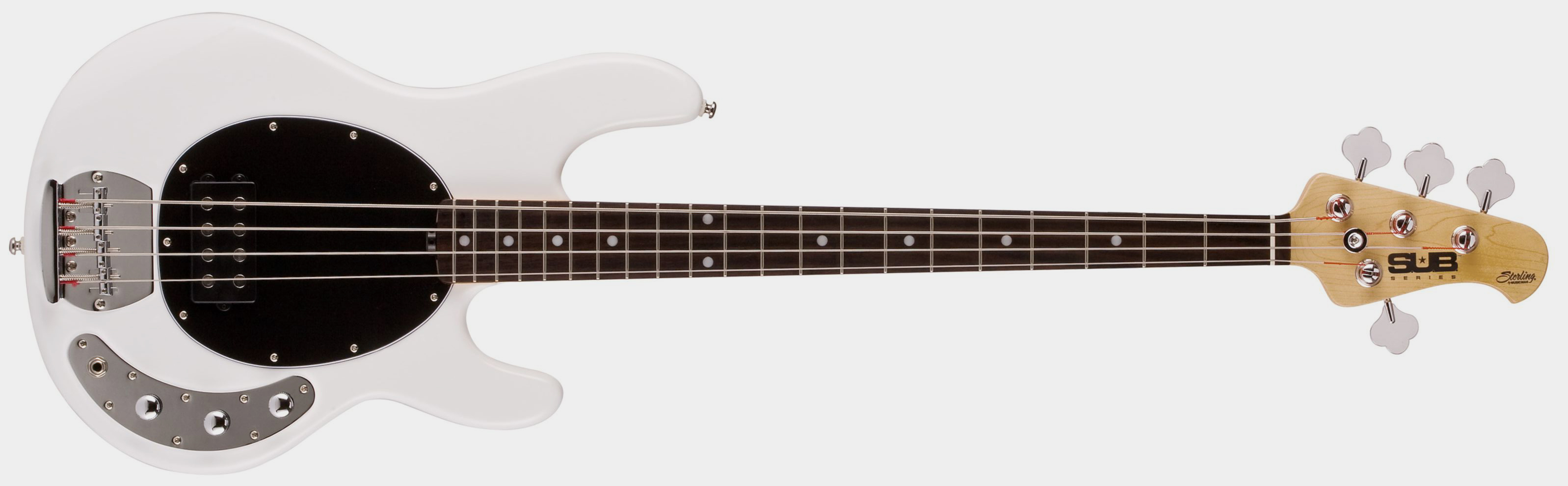 STERLING BY MUSIC MAN S.U.B. Ray4 RW White