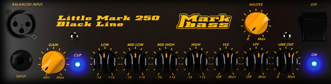 MARKBASS CMD JB Players School Combo Panel