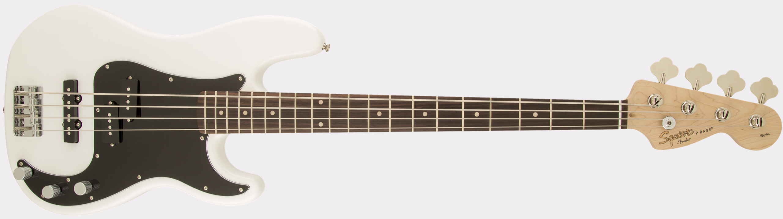 SQUIER Affinity Series Precision Bass PJ RW Olympic White