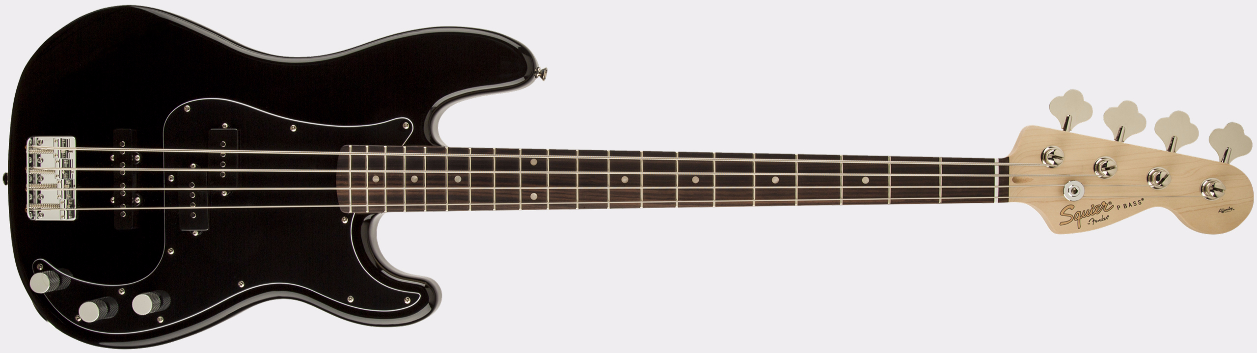 SQUIER Affinity Series Precision Bass PJ RW Black