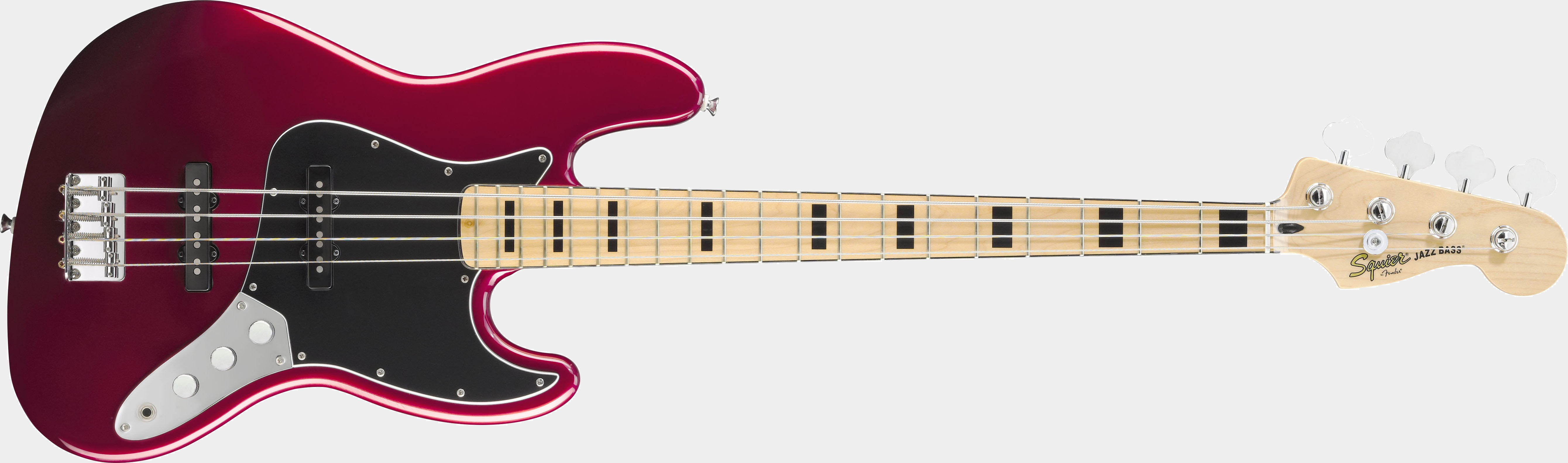 SQUIER Vintage Modified Jazz Bass MN Candy Apple Red