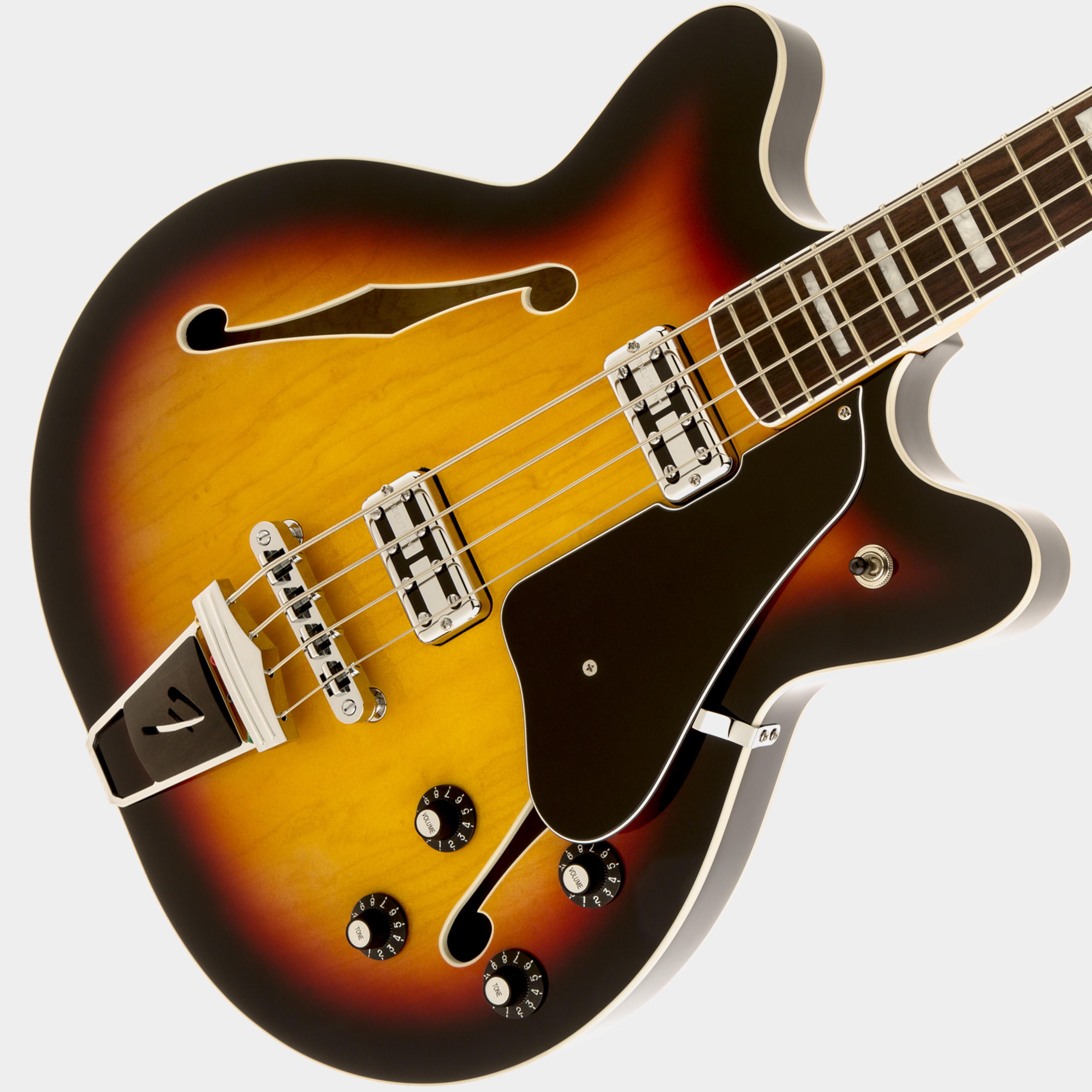 FENDER Modern Player Coronado Bass 3-Color Sunburst Korpus