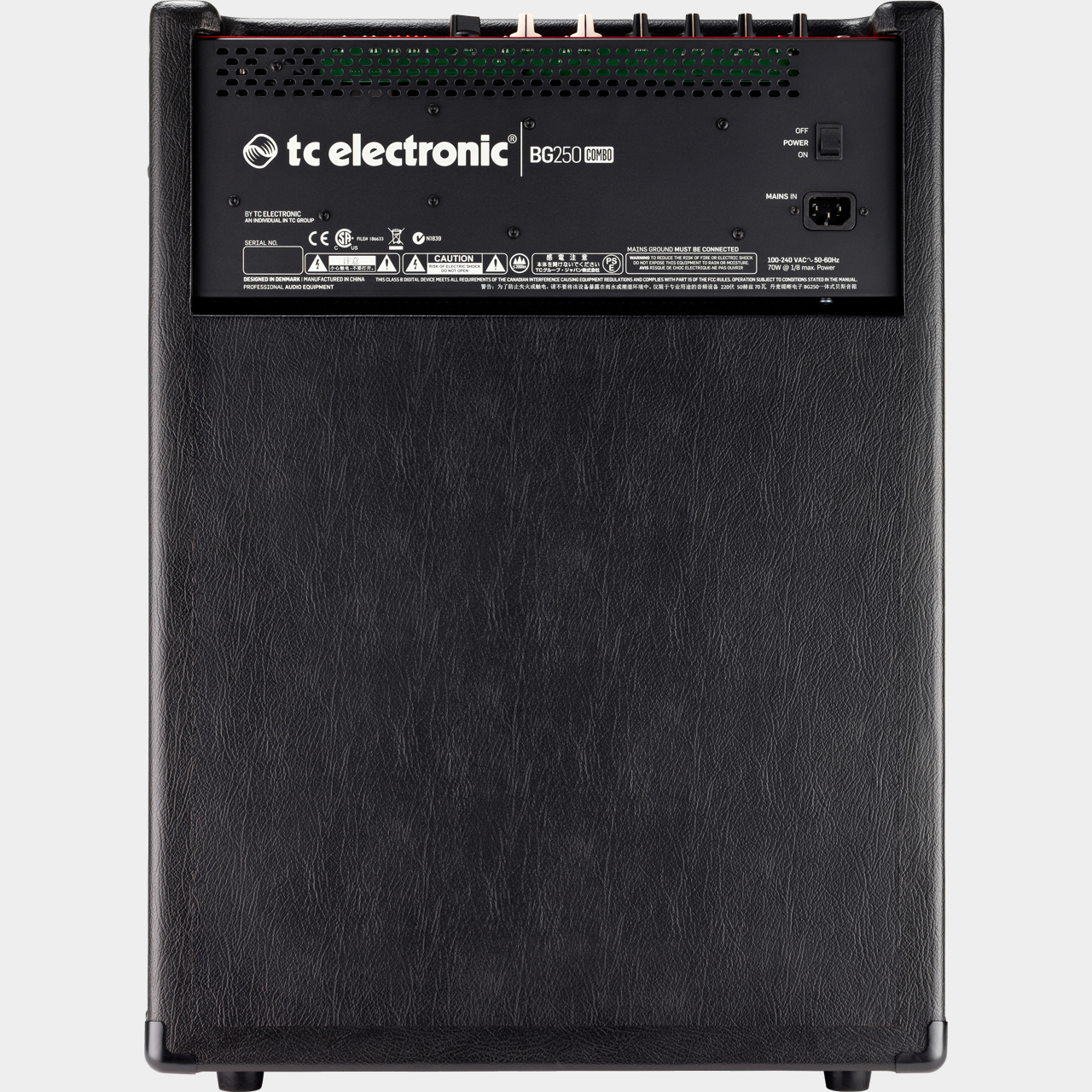 TC ELECTRONIC BG250-210 Combo Rear
