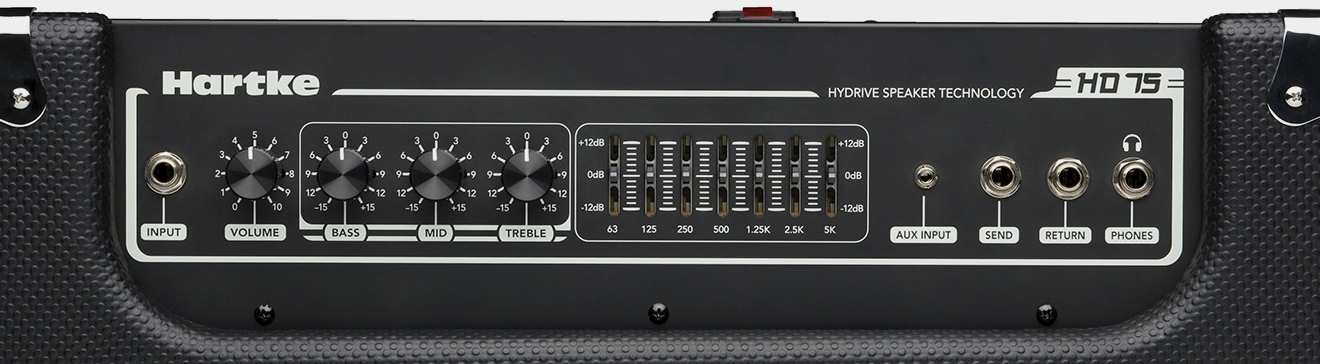 HARTKE HD 75 Combo Panel