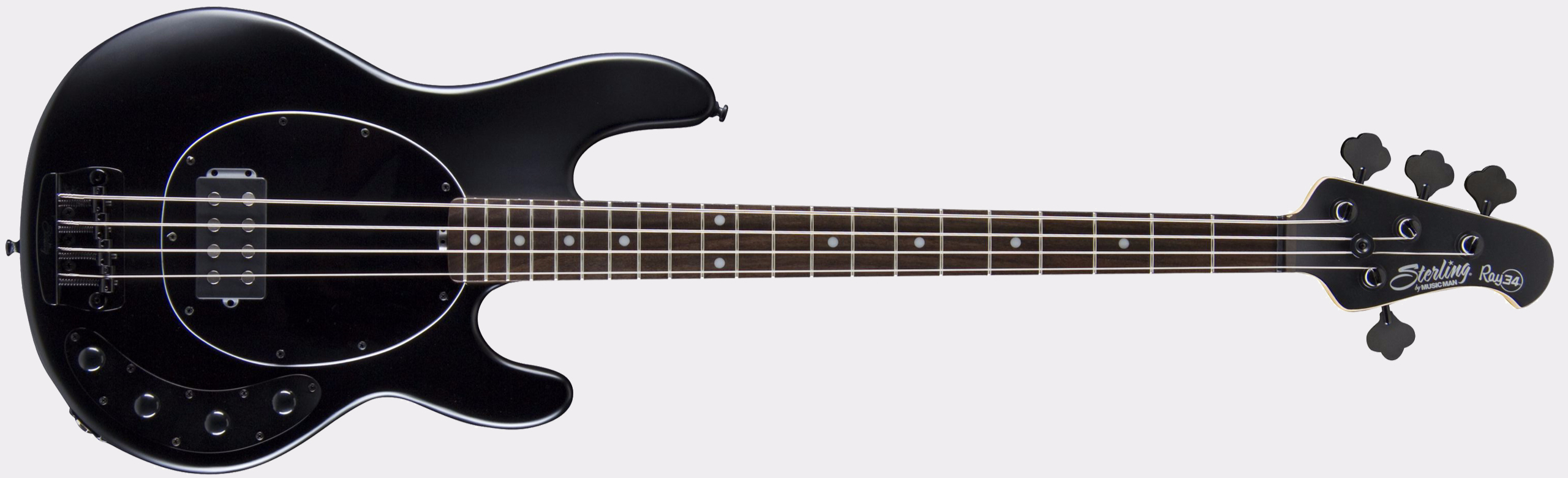 STERLING BY MUSIC MAN Ray34 RW Stealth Black