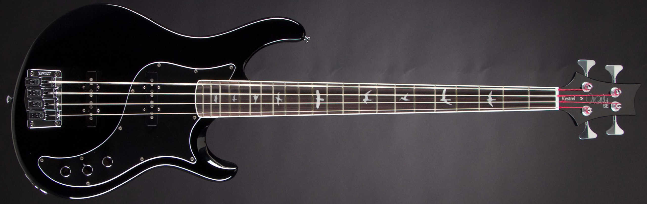 PRS SE Kestrel Black