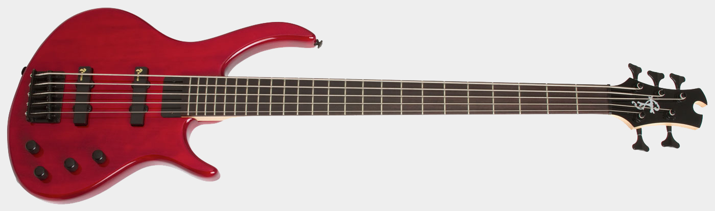 EPIPHONE Toby Deluxe V TR Translucent Red