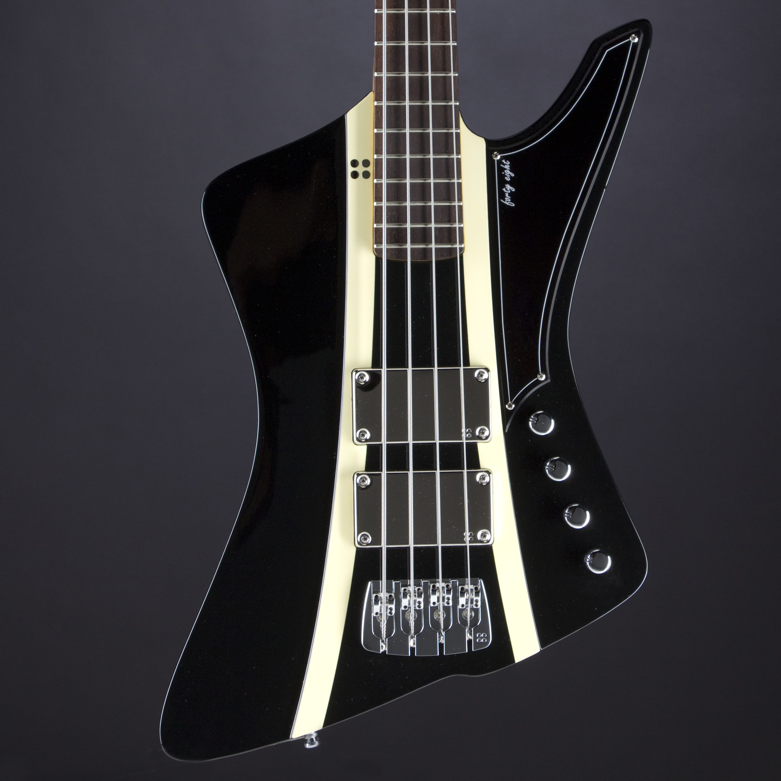 SANDBERG Forty Eight 4 RW Black Highgloss Korpus