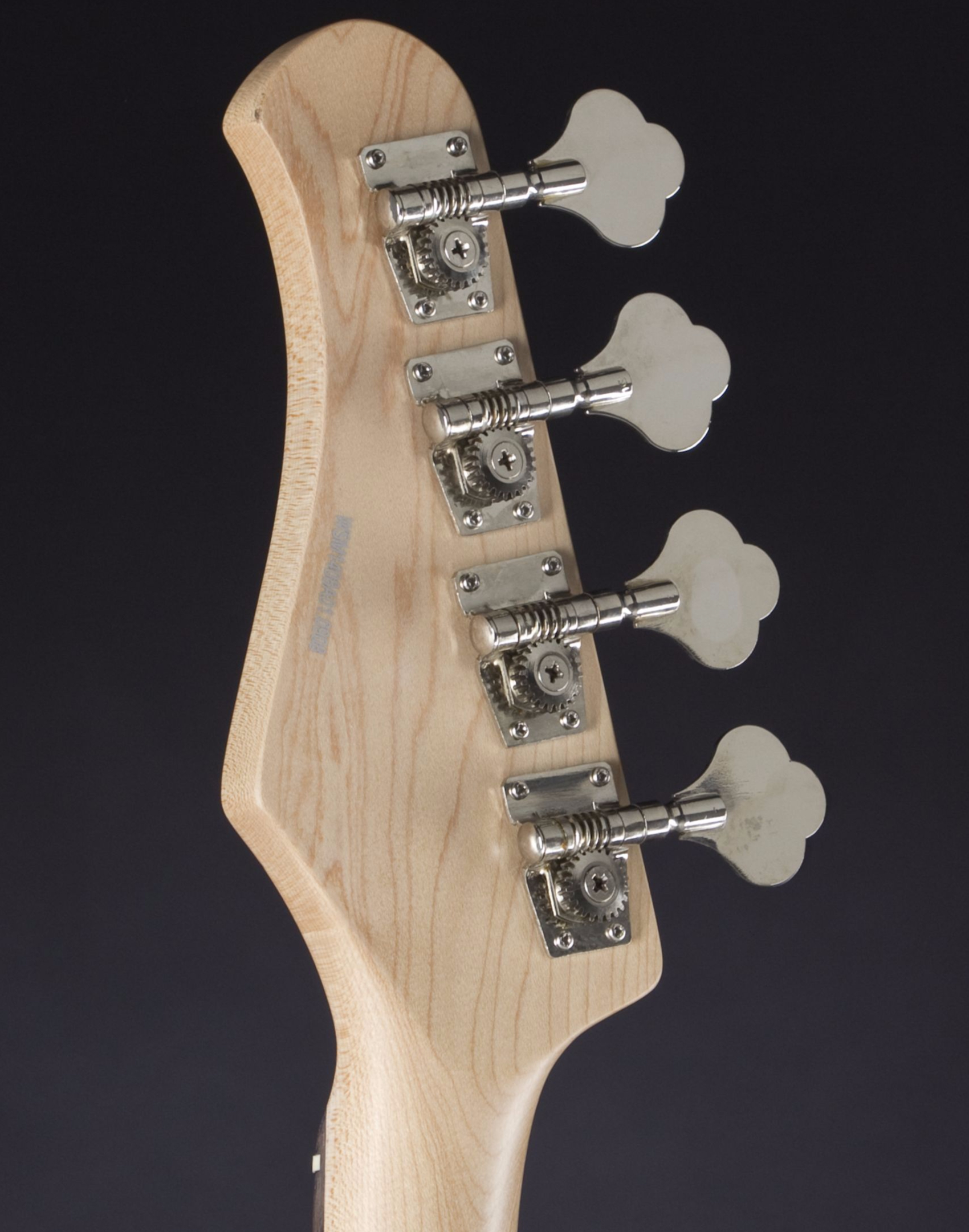 JACK & DANNY JB Mini STBL Headstock Detail