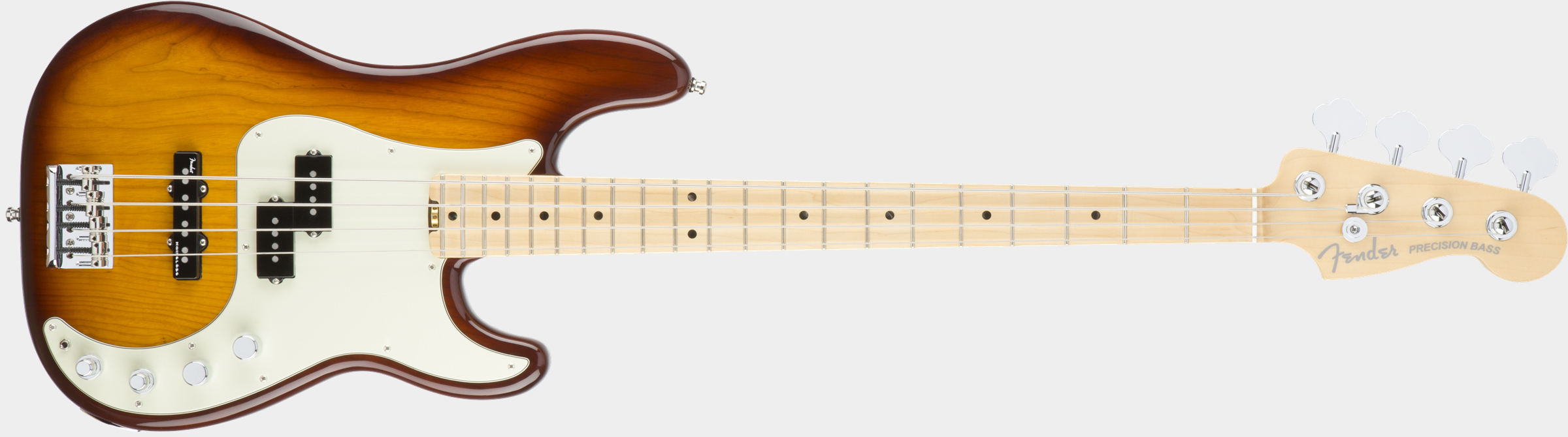 FENDER American Elite Precision Bass Tobacco Sunburst