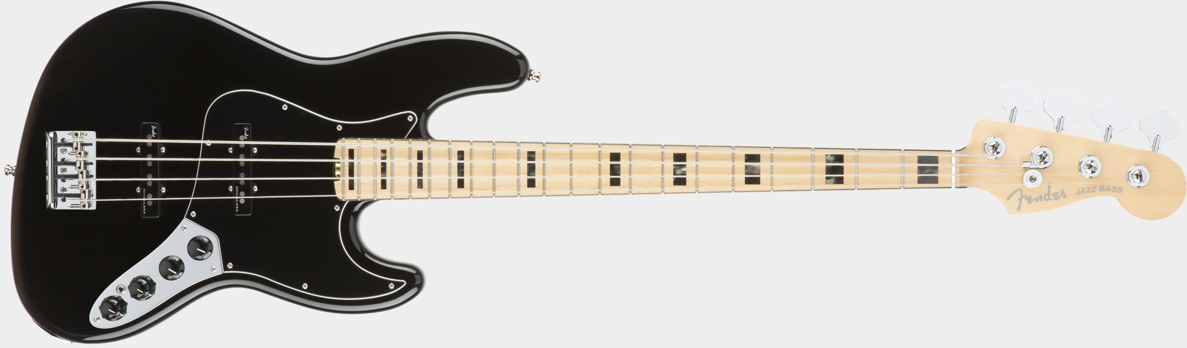 FENDER American Elite jazz Bass Black