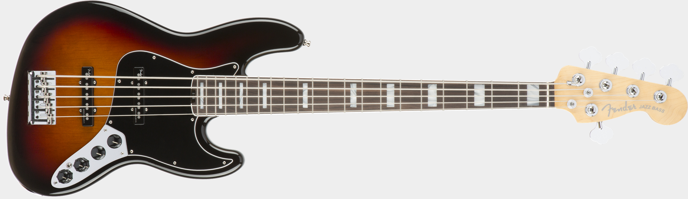 FENDER American Elite Jazz Bass V 3-Color Sunburst