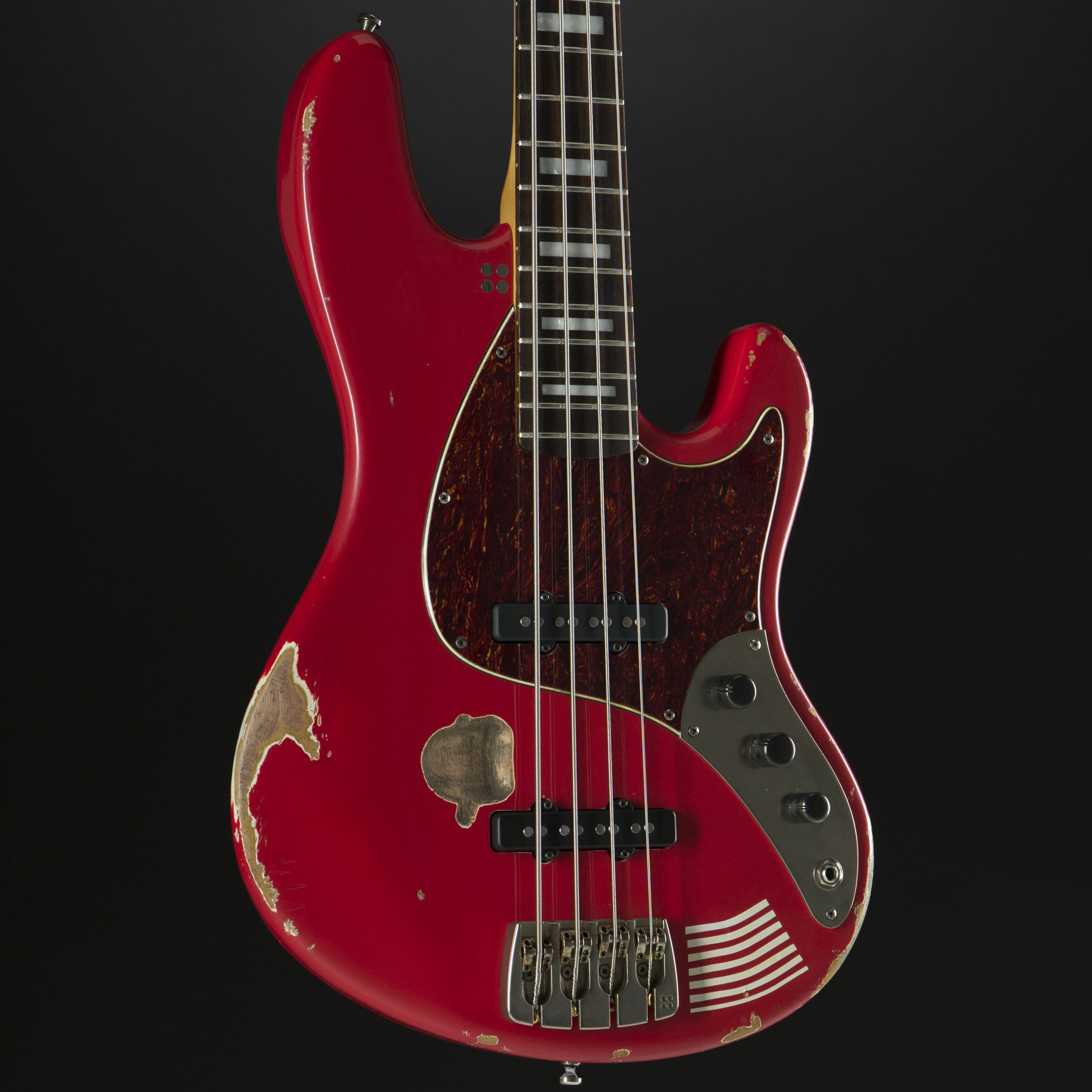 SANDBERG California MarloweDK 4-String Red Hardcore Aged Korpus