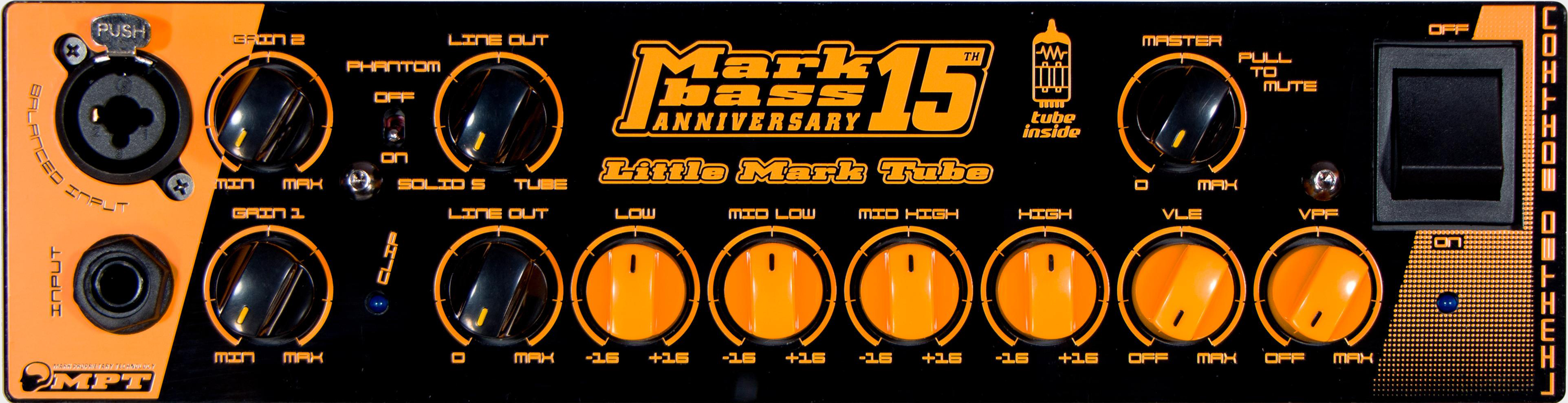 MARKBASS Little Mark Tube 15th Anniversary