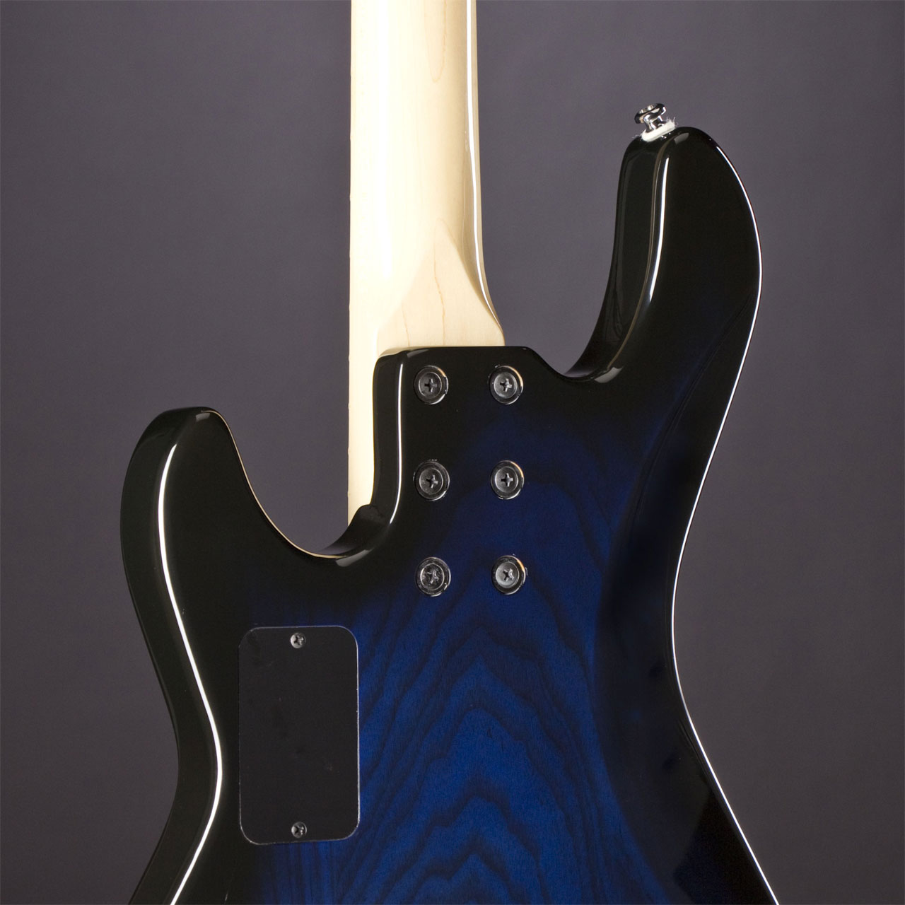 G&L Tribute MJ-4 MN Blueburst Rückseite
