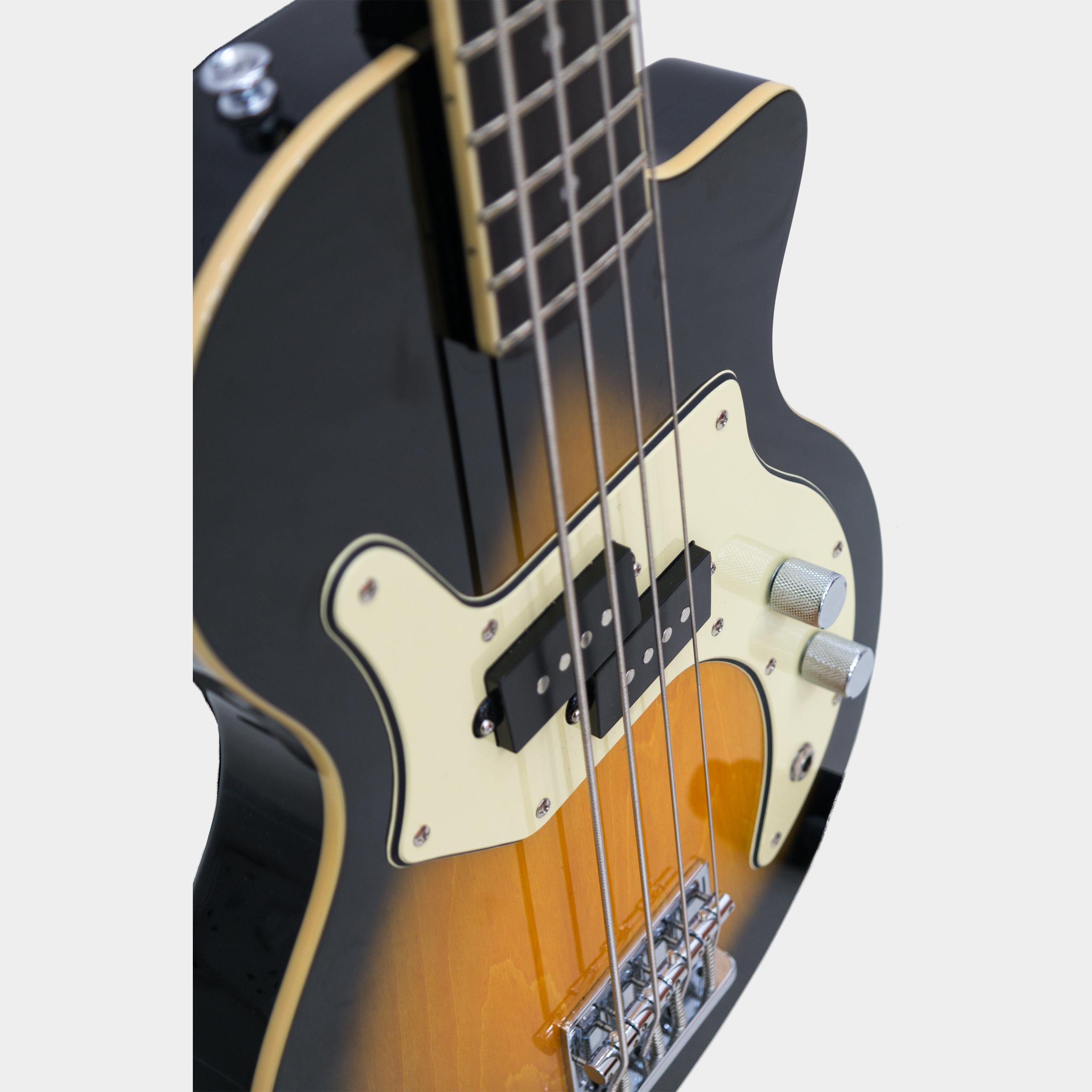 ORANGE O Bass Tear Drop Sunburst Tonabnehmer