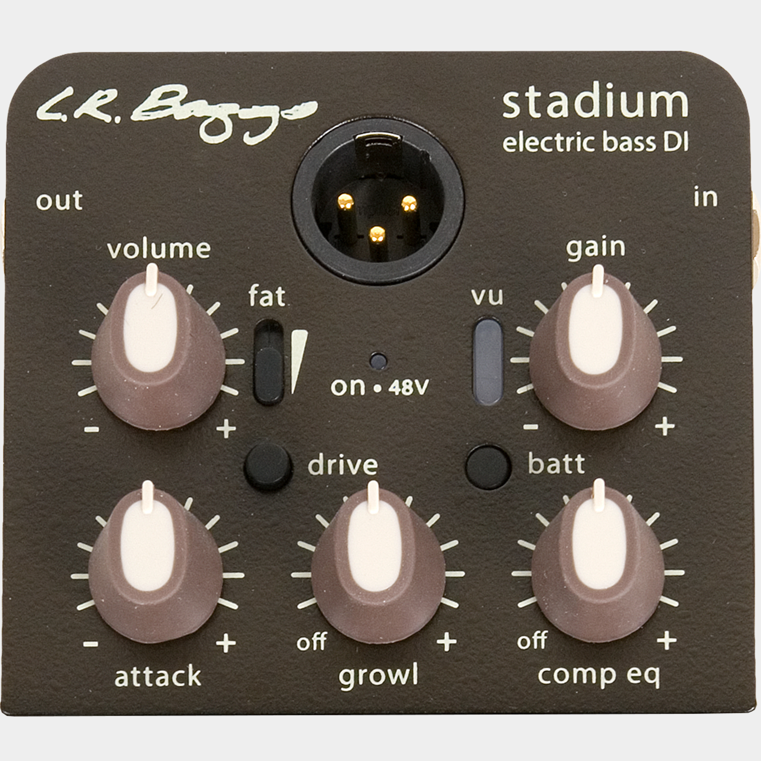 L.R. BAGGS Stadium Electric Bass DI Panel