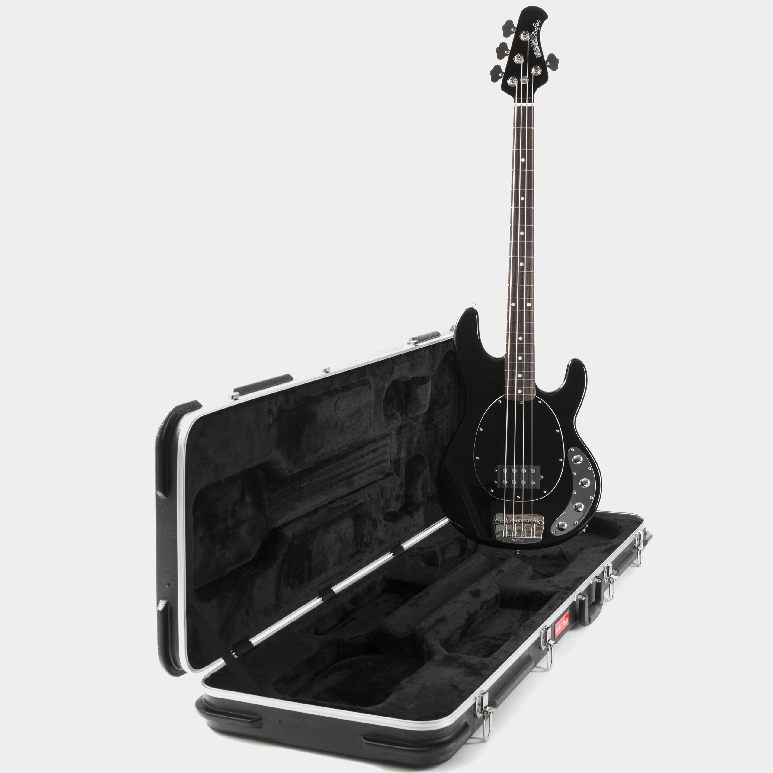 MUSIC MAN StingRay Neck Through RW Black Koffer