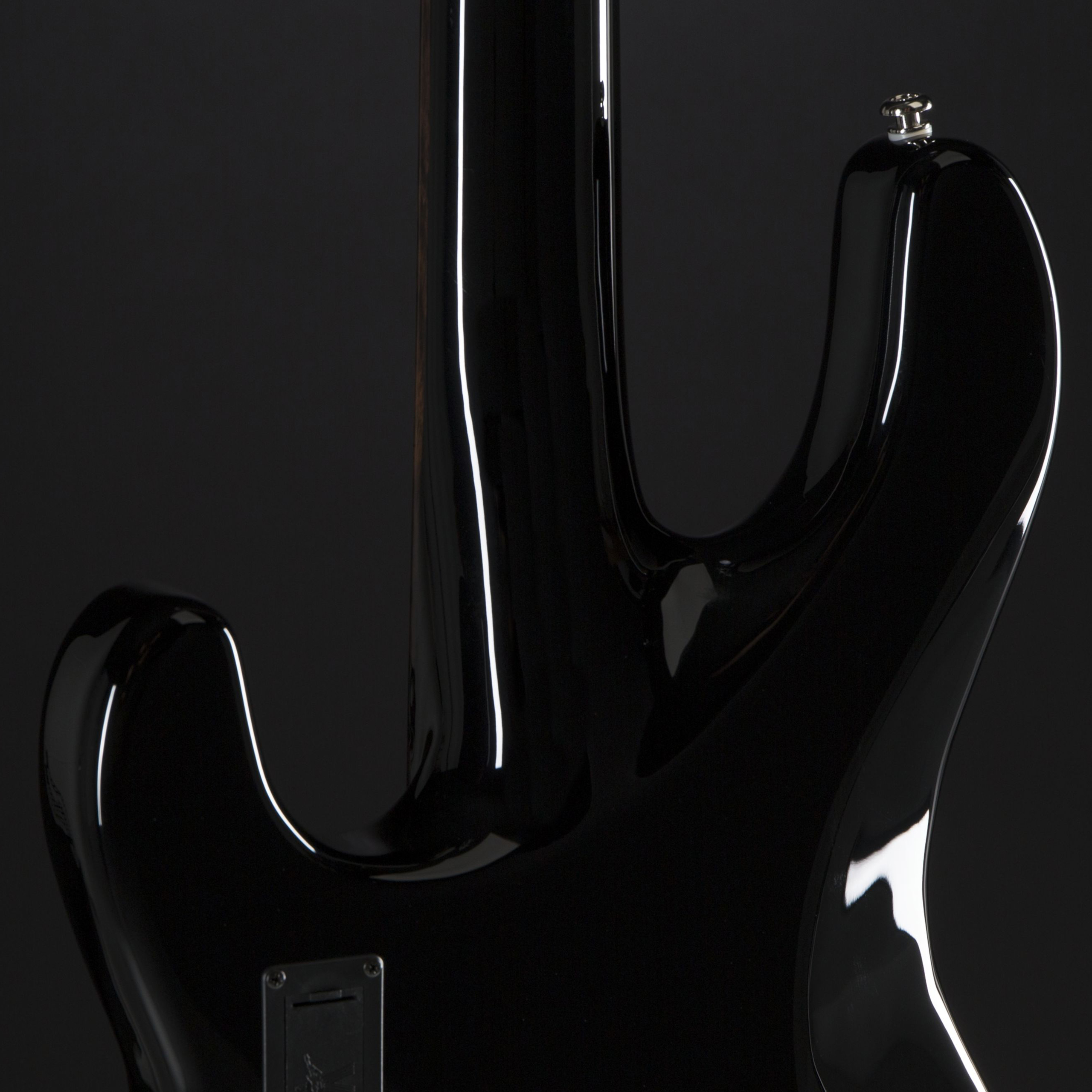 MUSIC MAN StingRay Neck Through RW Black Rückseite