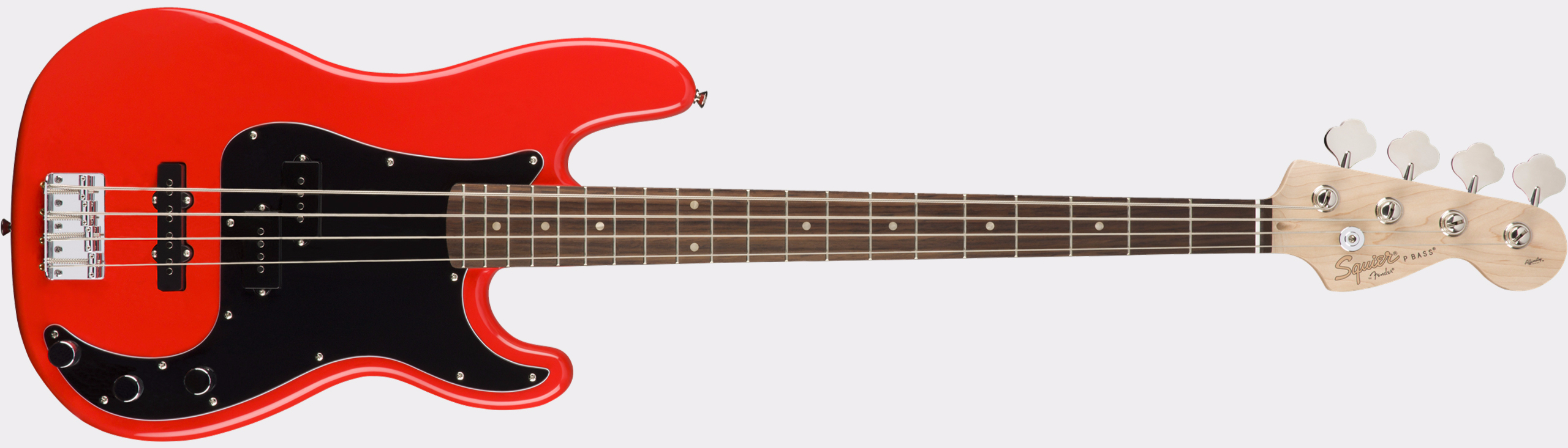 SQUIER Affinity Series Precision Bass PJ RW Race Red