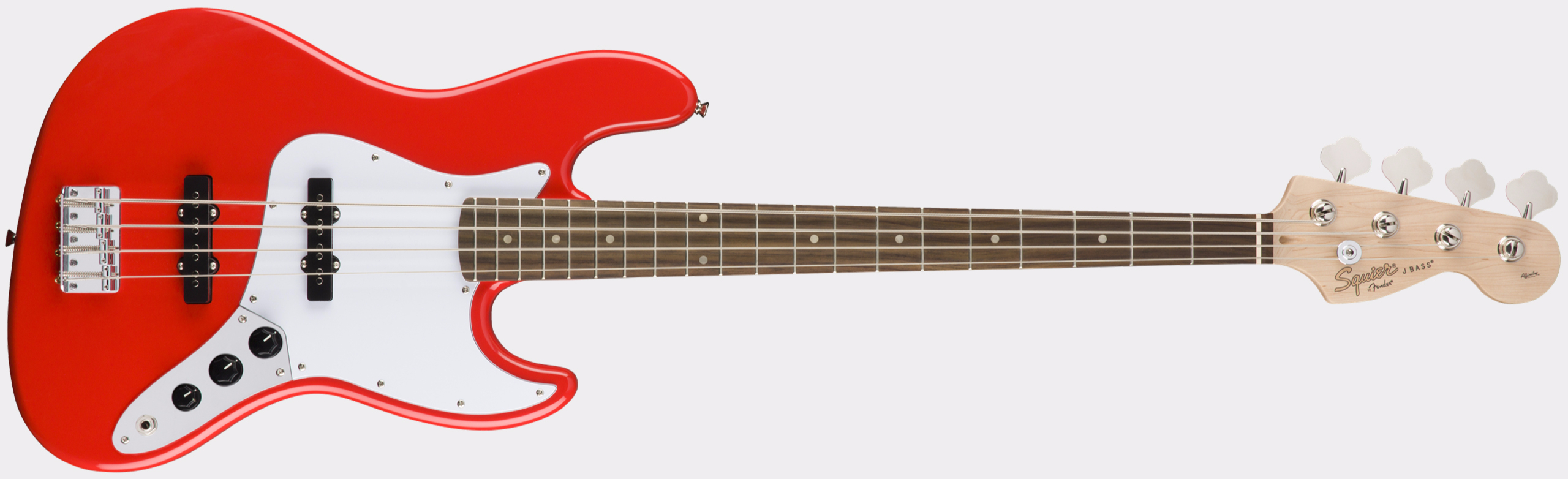 SQUIER Affinity Series Jazz Bass RW Race Red