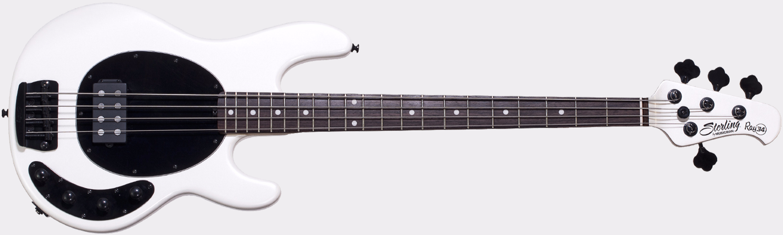 STERLING BY MUSIC MAN Ray34 RW Pearl White